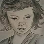 Innocence Print by Nandini  Thirumalasetty