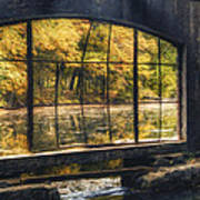 Inside The Old Spring House Print by Scott Norris