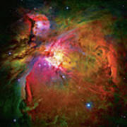 Into The Orion Nebula Print by The  Vault - Jennifer Rondinelli Reilly