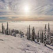 Inversion Sunset Print by Aaron Aldrich