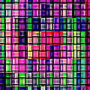 Iphone Cases Colorful Intricate Geometric Covers Cell And Mobile Phone Art Carole Spandau Cbs 169  Print by Carole Spandau