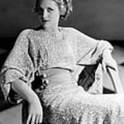Irene Hervey, 1933 Print by Everett