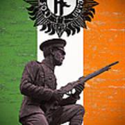 Irish 1916 Volunteer Print by David Doyle