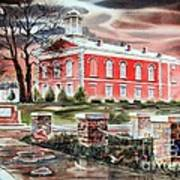 Iron County Courthouse No W102 Print by Kip DeVore