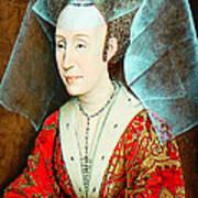 Isabella Of Portugal 1397-1471 Print by Li   van Saathoff