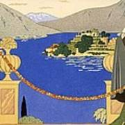 Isola Bella Print by Georges Barbier