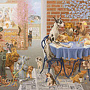 It's A Dog's World Print by Victor Powell