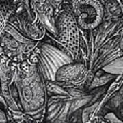 Jabberwockie Print by Otto Rapp