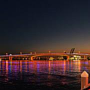 Jacksonville Acosta Bridge Print by Christine Till
