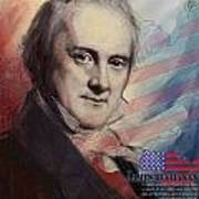 James Buchanan Print by Corporate Art Task Force
