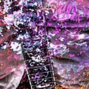 Jammin Out Digital Guitar Art By Steven Langston Print by Steven Lebron Langston