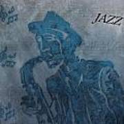 Jazz Man Print by Dan Sproul