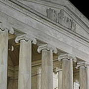 Jefferson Memorial - Washington Dc - 01131 Print by DC Photographer