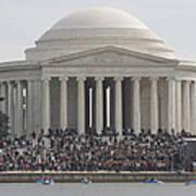 Jefferson Memorial - Washington Dc - 01134 Print by DC Photographer