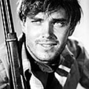 Jeffrey Hunter In The Searchers Print by Silver Screen