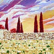 Jerusalem Prayers Print by Dawnstarstudios