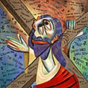 Jesus Print by Anthony Falbo