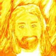 Jesus Is The Christ The Holy Messiah 1 Print by Richard W Linford