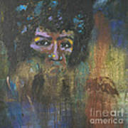 Jimi Hendrix Print by Vic  Mastis