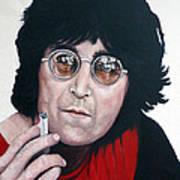 John Lennon Print by Tom Roderick