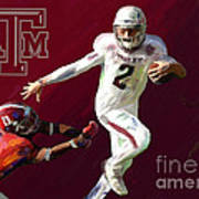Johnny Football Print by GCannon