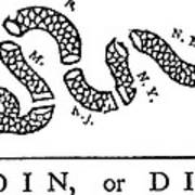 Join Or Die Print by Anonymous