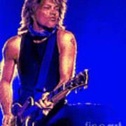 Jon Bon Jovi Print by John Travisano