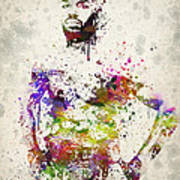 Jon Jones Print by Aged Pixel