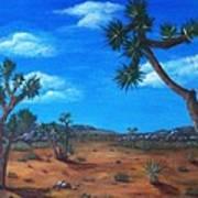 Joshua Tree Desert Print by Anastasiya Malakhova