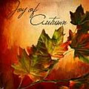 Joy Of Autumn Print by Lourry Legarde
