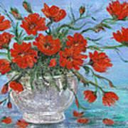 Jubilee Poppies Print by Catherine Howard