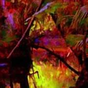 Jungle Fire Print by Buzz  Coe