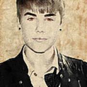Just Bieber Print by Dancin Artworks