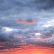 Kansas Sunset Print by JC Findley