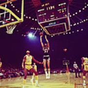 Kareem Jump Shot Print by Retro Images Archive