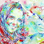 Kate Middleton Portrait.1 Print by Fabrizio Cassetta