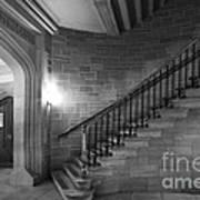 Kenyon College Peirce Stairway Print by University Icons