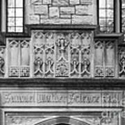 Kenyon College Samuel Mather Hall Print by University Icons