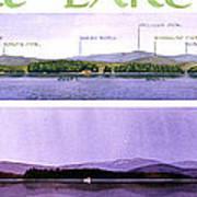 Kezar Lake View Print by Mary Helmreich