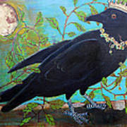 King Crow Print by Blenda Studio