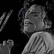 King Of Pop Print by Twinfinger