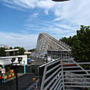 Kings Dominion - 12123 Print by DC Photographer