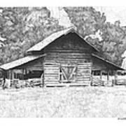 King's Mountain Barn Print by Paul Shafranski