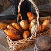 Kitchen - Food - Bread - Fresh Bread  Print by Mike Savad