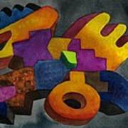 Kivi Pampa Apu Print by Fernando  Ocampo Sandy