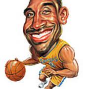 Kobe Bryant Print by Art