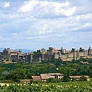 La Cite De Carcassonne Print by France  Art