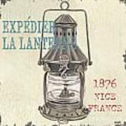 La Mer Lanterne Print by Debbie DeWitt