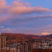 La Paz Twilight Print by James Brunker