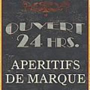 La Soupe Du Jour Print by Debbie DeWitt